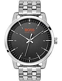 Hugo Boss Orange Mixte Analogique Quartz Montres bracelet avec bracelet en Acier Inoxydable - 1550075