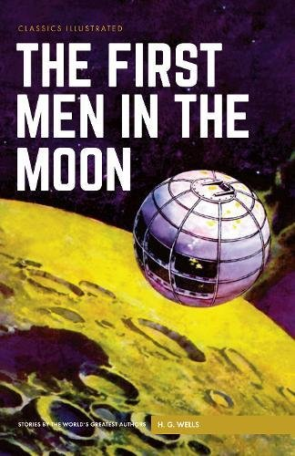 Book cover for The First Men in the Moon