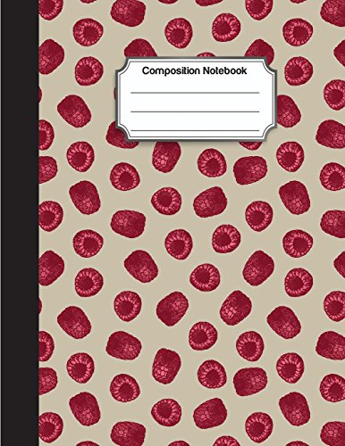 Composition Notebook: Red Pink Mulberry Drawing Pattern Cover : College Ruled School Notebooks, Subject Daily Journal Notebook : 120 Lined Pages (Large, 8.5 x 11 in.) - College-mulberry