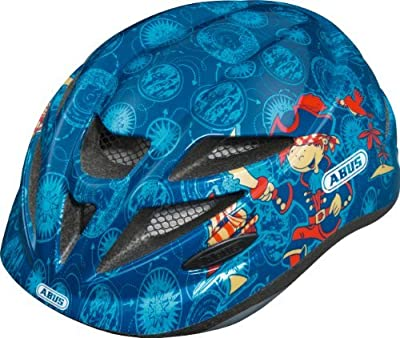 Abus Hubble Boys' Cycle Helmet blue pirate Size:XS by Abus from ABUS