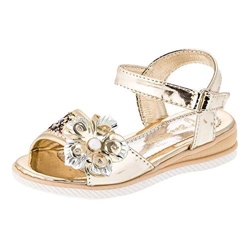 Eva Mode , Sandales pour fille #184go Gold