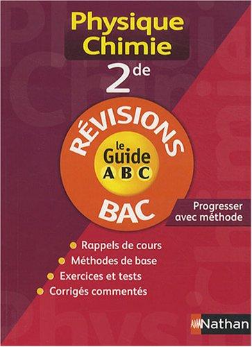 Physique-Chimie 2e : Révisions