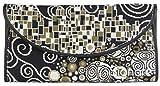 Signare porte-monnaie enveloppe tapisserie femme différents modèles (Klimt (le baiser))
