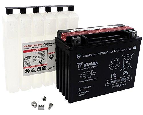 Batterie YUASA - YTX24HL-BS wartungsfrei für ARTIC CAT Prowler 650 650 ccm Baujahr 06-09 [inkl. 7,50 EUR Batteriepfand] -