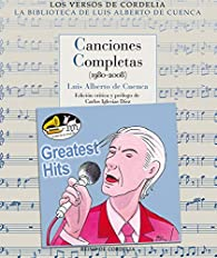 Canciones Completas (1980-2008) par Luís Alberto de Cuenca
