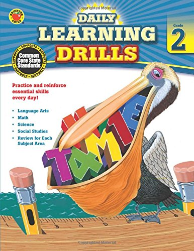 Daily Learning Drills, Grade 2 (Brighter Child: Daily Learning Drills)