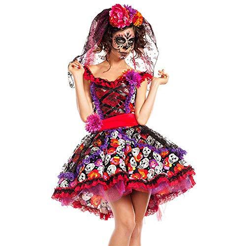 Beste Gruppe Halloween Kostüm Für Mädchen - Mexikanischer Tag der Toten Horror Zombie