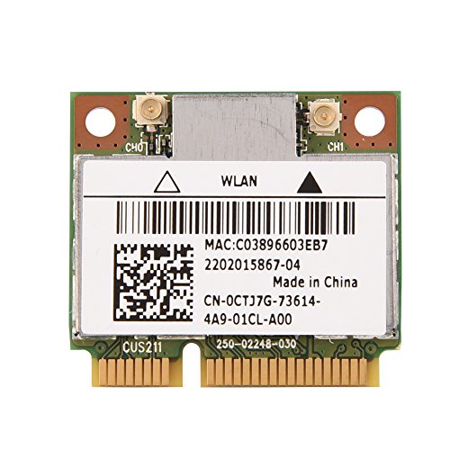 VBESTLIFE WiFi-Karte Wireless WiFi-Modul für die meisten Laptops mit Mini-PCI-E-Steckplatz, Dualband 2,4 GHz / 5 GHz Killer N1202 Wireless-WiFi-Kartenersatzmodulplatine