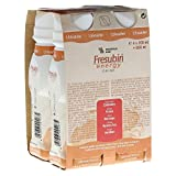 FRESUBIN ENERGY DRINK Erdbeere Trinkflasche CPC 4X200 ml