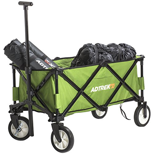 Adtrek - Chariot de camping - pliable et transportable - festival