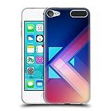 Head Case Designs Offizielle Alyn Spiller Blau Fusion Soft Gel Hülle für Apple iPod Touch 6G 6th Gen