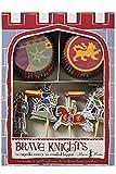 Ritter und Drache Set Cupcake Birthday Party