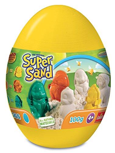 Preisvergleich Produktbild Super Sand 83260 - Kinderknete, 1 Ei nach Verfügbarkeit
