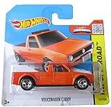 Hot Wheels HW Off-Road 124/250 Volkswagen Caddy Orange on Short Card by Hot Wheels