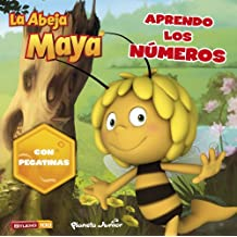 La Abeja Maya. Aprendo los números: Con pegatinas (La Abeja Maya 3d)
