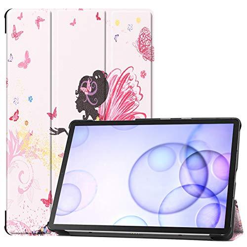 Lobwerk Tablet Hülle für Samsung Galaxy Tab S6 SM-T860 10.5 Zoll Slim Case Etui mit Standfunktion und Auto Sleep/Wake Funktion