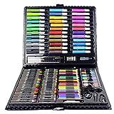 Professionnel Colore Crayons de Dessin Art Set, Ensemble Artistique 150pcs - Dessin Inclus pastel, aquarelle, Pastel à l'huile, métallique crayons de couleur, Idéal Cadeaux pour enfant