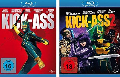 Bild von Kick-Ass 1 + 2 im Set - Deutsche Originalware [2 Blu-rays]