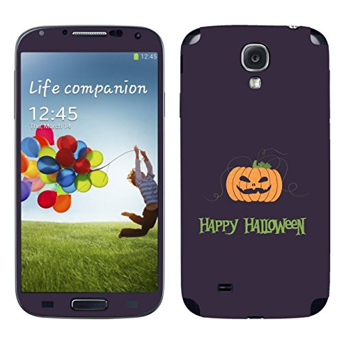 Disagu SF-104834_1221 Design Schutzfolie für Samsung I9508 Galaxy S4 Duos - Motiv Halloween Pumpkin 03