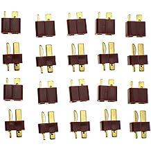 SATKIT PACK 20 CONECTORES T-DEAN (10 HEMBRA + 10 MACHO)