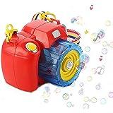 Zest 4 Toyz Camera Bubble Machine with Bubble Solution -Automatic Bubble Blower for Kids-More Than 500 Bubbles per Minute-Fun and Convenient -Assorted Color
