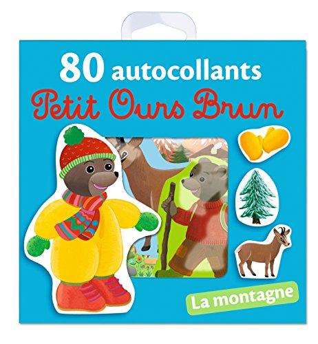 La montagne - 80 autocollants Petit Ours Brun