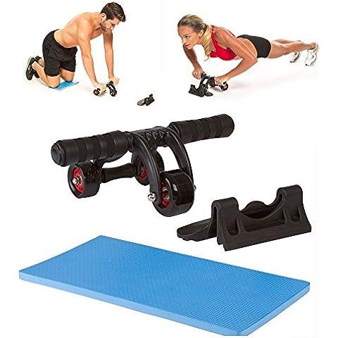 TekBox 3ruota addominale Fitness Allenamento muscolare ab