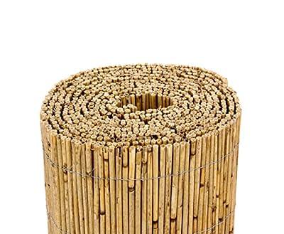 """Schilfrohrmatten Premium """"Beach"""", 180 hoch x 600cm breit, ein Produkt von bambus-discount - Sichtschutz Matten Windschutzmatten von bambus-discount.com auf Du und dein Garten"""