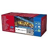 Konstsmide 4600-007 LED Hightech System / Anschlusskabel für 1040 Dioden oder 100 Meter / für Außen (IP44) /  24V Außentrafo / schwarzes Softkabel