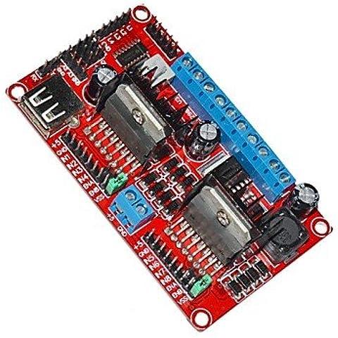 FAYM- Modulo Keyes-L298N conducente v3 stepper e alimentazione / wi-fi scheda del modulo di controllo di azionamento del motore - Modulo Di Controllo Del Motore