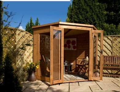 Timber Corner Summerhouse 7x7 OGD073