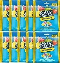 Jolly Rancher Lollipops, 54g - Pack of 10