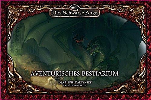dsa5 spielkartenset Spielkartenset Aventurisches Bestiarium Deluxe (Das Schwarze Auge - Zubehör)