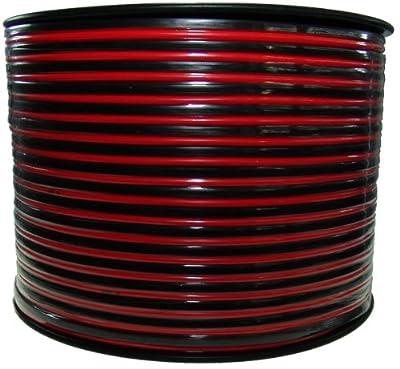 Lautsprecherkabel rot/sw. - 2x1,5mm² - 45m Ring von sonstige bei Lampenhans.de
