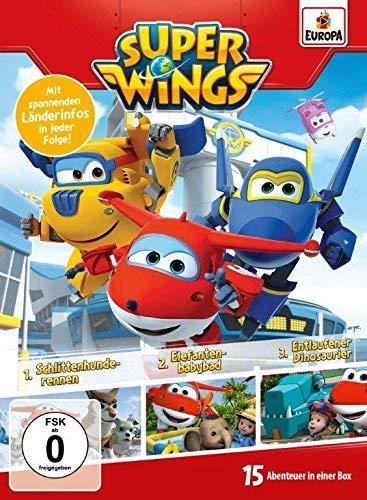 Super Wings - 3er Box 02 (Folgen 4, 5, 6) [3 DVDs]