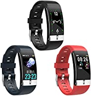 Akaddy Fitness Tracker, Activity Trackers E66 Smart Band PPG ECG Body Temperature Heart Rate Monitor Fitness T