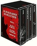 Die Gruselklassiker der Weltliteratur: Frankenstein / Dr. Jekyll und Mr. Hyde /  Dracula / Das Bildnis des Dorian Gray (4 Bände im Schuber) - Mary Shelley