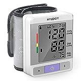 Misuratore di Pressione da Polso,HYLOGY Sfigmomanometro da Polso Professionale...