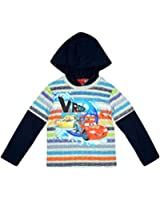 Boys Disney Pixar Cars Lightning McQueen Hoody Skater Top sizes from 3 to 8 Years
