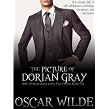 The Picture of Dorian Gray: With 12 Illustrations and a Free Online Audio File. (English Edition)