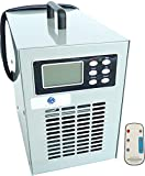 Professional Timer Ozone Generator Ozone 5000 mg/hr and suitable for continuous use with Remote Control. Model: CHM 5000 - TC. Dimensions (cm): Length 17.5 ', Height: 26. Certified by ROHS (Contains No Danger and toxins and CE) and Tile (Corona Discharge Ozone Generator with UV Light.