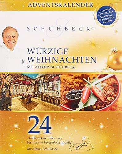 """Huber-Kölle Gewürz-Advenskalender Schuhbeck´s """"Würzige Weihnachten"""""""