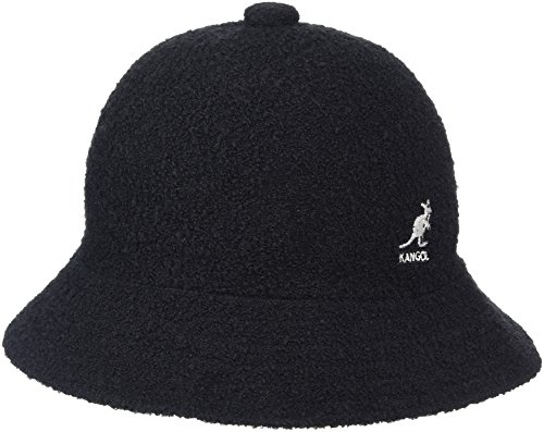 kangol-winter-bermuda-casual-chapeau-bob-homme-noir-noir-blanc-medium