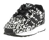 adidas Unisex Baby Zx Flux EL I Sneakers, Schwarz core Black/FTWR White, 26 EU