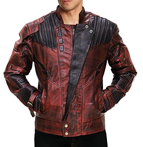 Fashion_First Herren Jacke Gr. XXX-Large, kastanienbraun (Herren Jacke Kastanienbraun Leder)