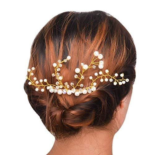 TINGSU Modische Haarspange für Damen, dreieckig, Haarspange