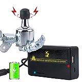 Zjego dinamo bicicletta generatore di batteria ricaricabile USB charger kit, portatile e impermeabile-senza attrezzi, silver