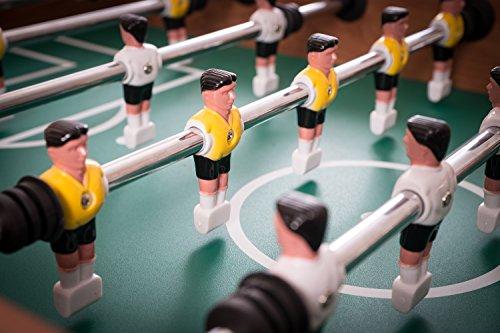 Kickertisch Profi Soccer Deluxe inkl. 10 Ersatzbälle von Charlsten -