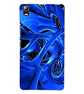 ColourCraft Abstract Image Design Back Case Cover for LENOVO A7000 TURBO