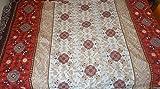 XL Überwurf 1001 Nacht Sofa Couch Tagesdecke Oriental 270 x 380 Orient Indien Mandala, 100% Baumwolle Renforce Qualität